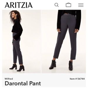ARITZIA Wilfred Darontal Pant Grey Size 2